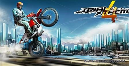 دانلود Trial Xtreme 4 v1.9.7 بازی موتور سواری اندروید به همراه دیتا