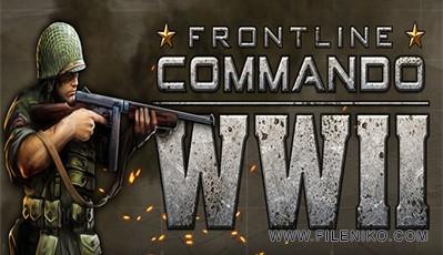 دانلود FRONTLINE COMMANDO:WW2 V 1.02 بازی تفنگی اندروید به همراه دیتا