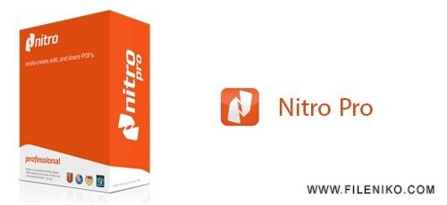 nitro pro 500x230 - دانلود Nitro Pro 12.5.0.268 نرم افزار ساخت و ویرایش PDF