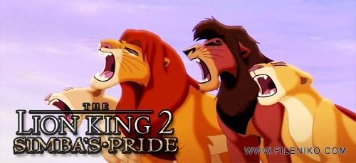 دانلود انیمیشن The Lion King 2: Simba's Pride شیرشاه ۲:پادشاهی سیمبا دوبله فارسی دو زبانه