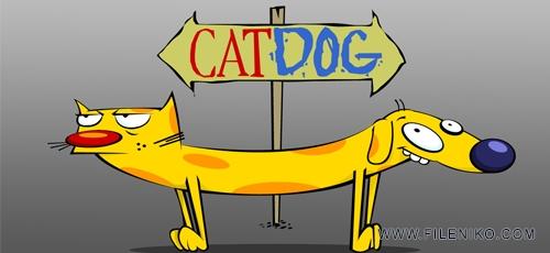 دانلود مجموعه کارتون CatDog گربه سگ زبان اصلی