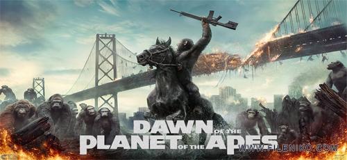 Dawn of the Planet of the Apes - دانلود فیلم سینمایی Dawn of the Planet of the Apes 2014 دوبله فارسی کیفیت سه بعدی