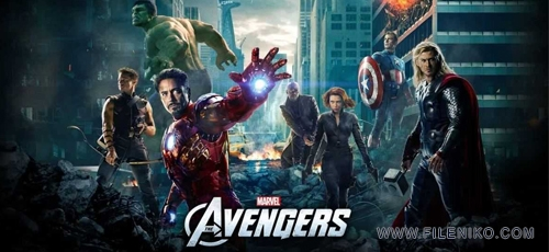 The Avengers 2012 - دانلود فیلم سینمایی The Avengers 2012  انتقام جویان سه بعدی دوبله فارسی