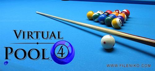 Virtual Pool 4 - دانلود بازی Virtual Pool 4 برای PC