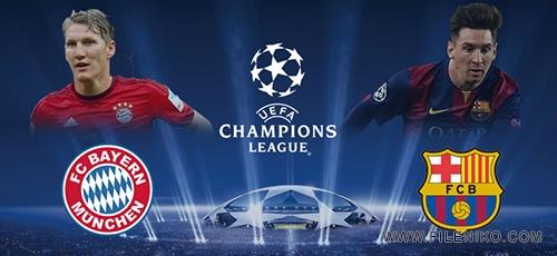 barcelona vs bayern - جام قهرمانان اروپا Bayern Munich vs Barcelona بازی برگشت