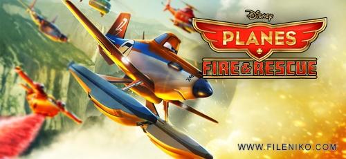 planes2 - دانلود انیمیشن Planes: Fire & Rescue 2014 با دوبله فارسی