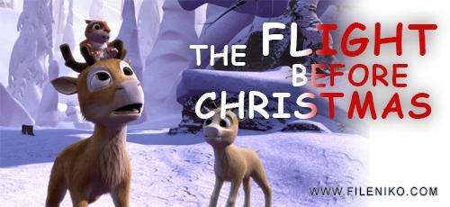 the flight - دانلود انیمیشن The Flight Before Christmas 2008 با دوبله فارسی