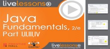 Informit Java Fundamentals LiveLessons 222x100 - دانلود Informit - Java Fundamentals LiveLessons Parts I, II, III, and IV آموزش صفر تا صد جاوا