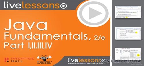 Informit Java Fundamentals LiveLessons - دانلود Informit - Java Fundamentals LiveLessons Parts I, II, III, and IV آموزش صفر تا صد جاوا