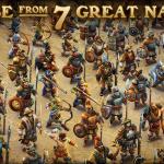 دانلود DomiNations 5.577.577  بازی تمدن های سلطه گر اندروید استراتژیک بازی اندروید موبایل