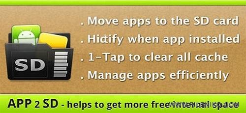 AppMgr Pro III App 2 SD - دانلود AppMgr Pro III (App 2 SD) آخرین نسخه انتقال برنامه ها به کارت حافظه اندروید