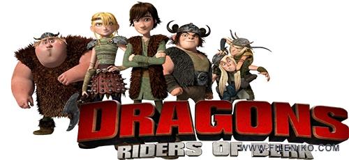 Dragons - دانلود انیمیشن Dragons: Riders of Berk اژدها سواران برک فصل اول با دوبله فارسی