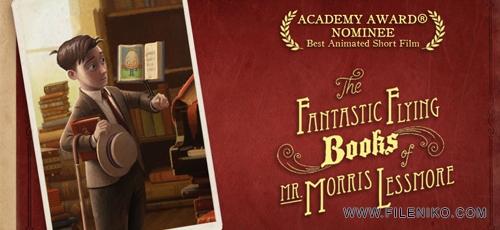 The Fantastic Flying Books of Mr. Morris Lessmore  - دانلود انیمیشن کوتاه کتاب های پرنده آقای موریس لسمور – The Fantastic Flying Books of Mr. Morris Lessmore برنده ی اسکار 2012