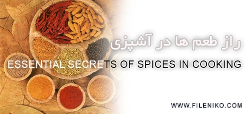 advie - دانلود The Everyday Gourmet:Essential Secrets of Spices in Cooking آموزش آشپزی،راز طعم ها در آشپزی