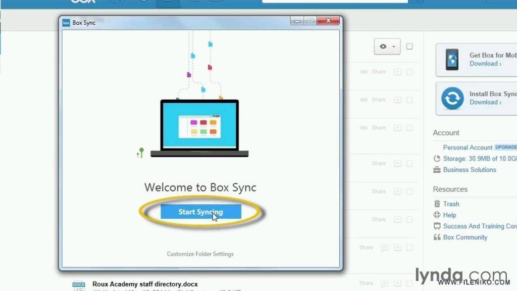 دانلود Up and Running with Box آموزش باکس،سرویس ابری - فایل نیکو