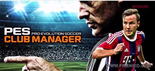 pes - دانلود PES Club Manager v1.6.0  بازی سرمربی فوتبال اندروید + دیتا