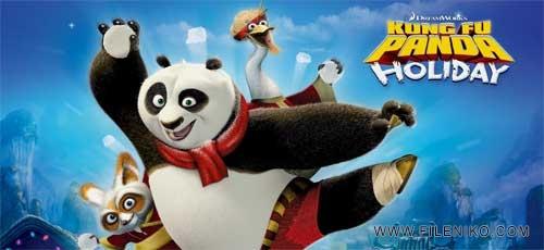 دانلود انیمیشن زیبای تعطیلات پاندای کونگفوکار – Kung Fu Panda Holiday دوبله فارسی
