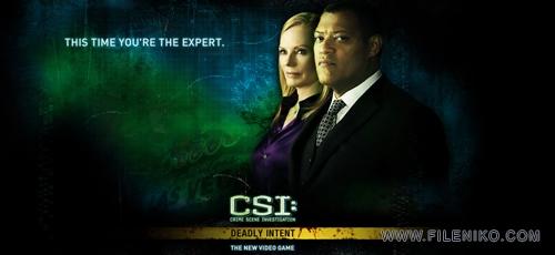 CSI Crime Scene Investigation Deadly Intent - دانلود بازی CSI: Deadly Intent برای PC