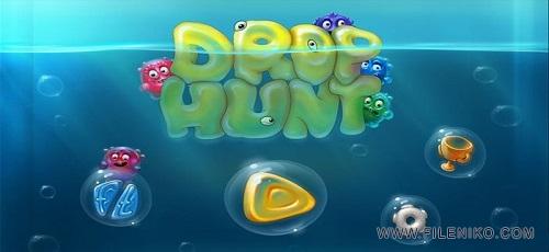 Drop Hunt - دانلود Drop Hunt V1.06 – بازی پازل بسیار زیبای در جست و جوی قطره اندروید همراه دیتا + تریلر