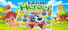 Farm Heroes 222x100 - دانلود Farm Heroes Super Saga 2.46.8  بازی قهرمانان مزرعه اندروید