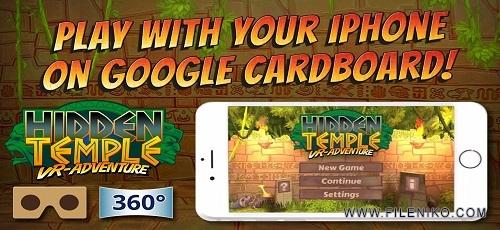 "Hidden Temple VR Adventure - دانلود Hidden Temple – VR Adventure 1.0.5 – بازی واقعیت مجازی ""معبد پنهان"" اندروید + دیتا"