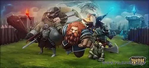 دانلود Throne Rush v4.16.2  یورش تاج و تخت بازی استراتژیک آنلاین اندروید