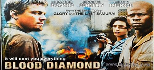 blood diamond - دانلود فیلم سینمایی Blood Diamond 2006 دوبله فارسی