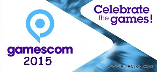 gamescom1 - دانلود مراسم Gamescom 2015 فستیوال اروپایی بازی های رایانه ای با کیفیت Full HD
