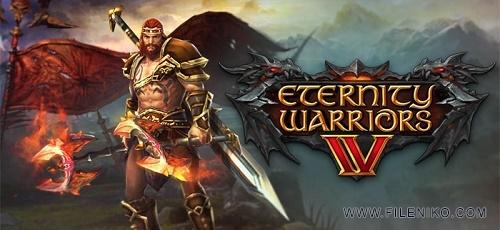 ETERNITY WARRIORS 4 Cover - دانلود ETERNITY WARRIORS 4 v.1.3.0  بازی اکشن فوق العاده مبارزان ابدیت 4 اندروید + دیتا