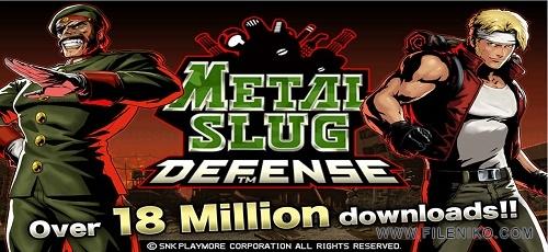 METAL SLUG DEFENSE - دانلود METAL SLUG DEFENSE 1.46.0 – بازی خاطره انگیز اندروید + مود