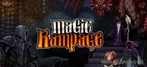 magic rampage logo 400x199 - دانلود Magic Rampage 2.1.9 بازی خشم جادویی اندروید + مود + دیتا