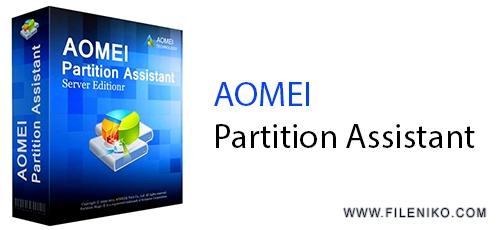 33 - دانلود AOMEI Partition Assistant Technician 8.9 مدیریت پارتیشن