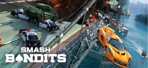 Smash Bandits Racing - دانلود Smash Bandits Racing v1.09.18   بازی مسابقه راهزنان اندروید همراه با دیتا