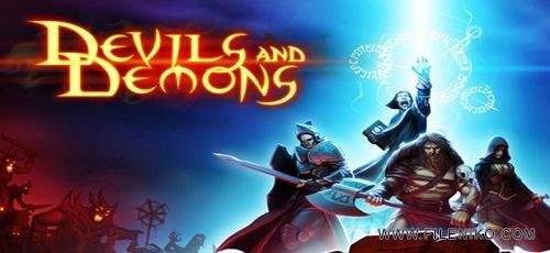 devils and demons - دانلود Devils & Demons 1.1.4 – بازی RPG دیوها و شیاطین اندروید + مود + دیتا