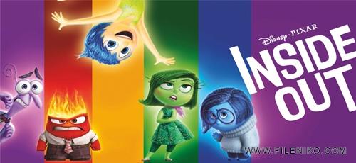 دانلود انیمیشن Inside Out 2015 سه بعدی با دوبله فارسی