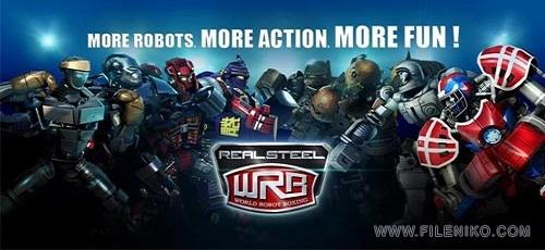 real - دانلود Real Steel World Robot Boxing 31.31.873 بوکس ربات ها اندروید + مود +دیتا