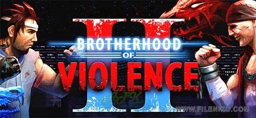 Brotherhood of Violence II - دانلود Brotherhood of Violence II 2.5.4   بازی برادری خشونت 2 اندروید همراه با دیتا + نسخه مود
