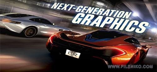 CSR Racing 2 Index - دانلود CSR Racing 2 v1.14.0  بازی ماشین سواری خارق العاده اندروید همراه با دیتا + نسخه مود