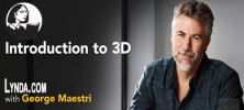 Navigating 3D 222x100 - دانلود Lynda Introduction to 3D فیلم آموزشی مقدمه ای بر ۳D