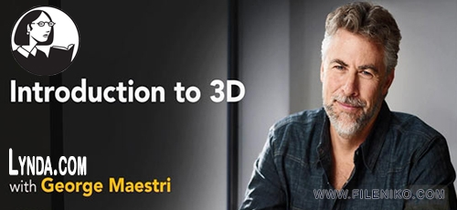Navigating 3D - دانلود Lynda Introduction to 3D فیلم آموزشی مقدمه ای بر ۳D