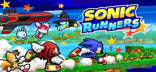 SONIC RUNNERS - دانلود SONIC RUNNERS 2.0.0  بازی سونیک دونده اندروید + مود