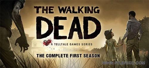 The Walking Dead The Complete First Season - دانلود The Walking Dead: Season One 1.16 – بازی مرده متحرک: فصل اول اندروید