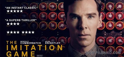 The.Imitation.Game .Banner - دانلود مستند سینمایی The Imitation Game 2014 بازی تقلید با دوبله فارسی