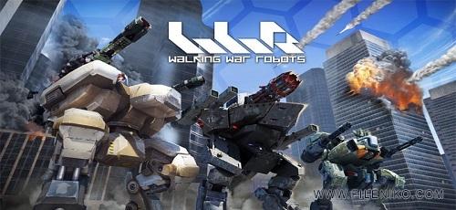 Walking War Robots - دانلود Walking War Robots v3.3.0  بازی اکشن نبرد روبات ها اندروید همراه با دیتا
