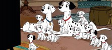 101 Dalmatians 1961 222x100 - دانلود انیمیشن صد و یک سگ خالدار – One Hundred and One Dalmatians دو زبانه
