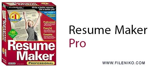 61ZEA523EWL - دانلود ResumeMaker Professional Deluxe 20.1.0.120 ساخت و تهیه رزومه های حرفه ای