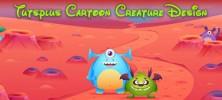 Cartoon 222x100 - دانلود Tutsplus Cartoon Creature Design فیلم آموزش طراحی شخصیت کارتونی به صورت کامل
