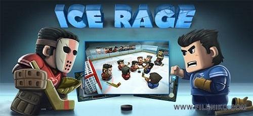 Ice Rage - دانلود Ice Rage 1.0.25 – بازی هاکی روی یخ برای اندروید
