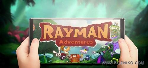 Rayman Adventures1 - دانلود Rayman Adventures 1.0.0.200 – بازی ماجراهای ریمن اندروید + دیتا