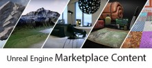 Unreal Engine Marketplace Content 222x100 - دانلود Unreal Engine Marketplace Content مجموعه نمونه بازی های تجاری آنریل انجین